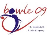 BOWLE 09 – 1. pétanque klub Klatovy - logo